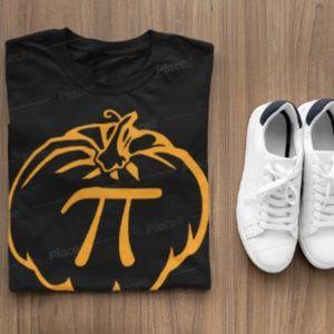 Pumpkin Pie Tshirt, mens, ladies Fall Shirt Design